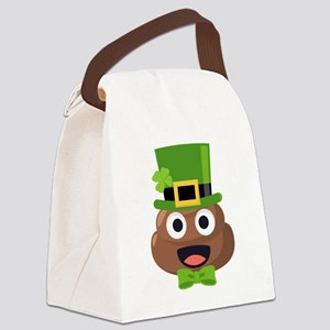 Poo St. Pattys Canvas Lunch Bag