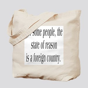 The State of Reason Tote Bag