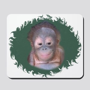 BABY ORANGUTAN Mousepad