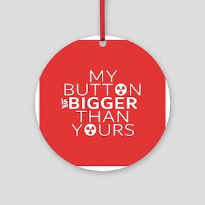 Bigger Button Round Ornament