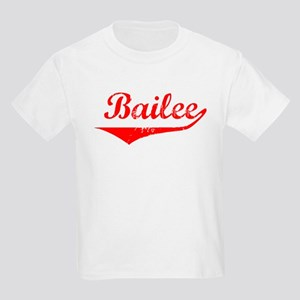 Bailee Vintage (Red) Kids Light T-Shirt