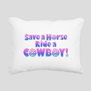 Cowboy Rectangular Canvas Pillow
