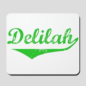 Delilah Vintage (Green) Mousepad