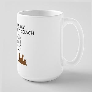 Grandpa farts funny Large Mug