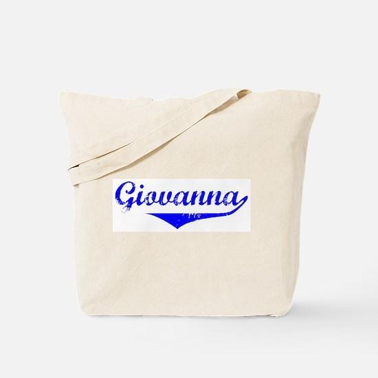 Giovanna Vintage (Blue) Tote Bag