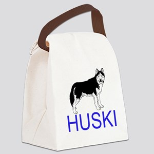HUSKIES Canvas Lunch Bag
