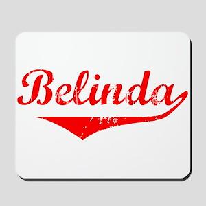 Belinda Vintage (Red) Mousepad