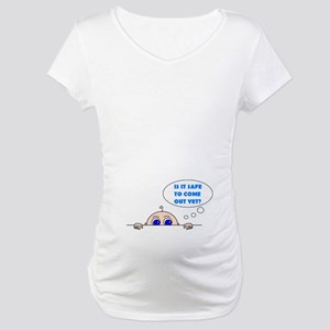 IS IT SAFE? Maternity T-Shirt