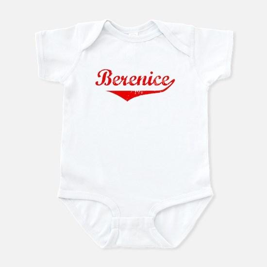 Berenice Vintage (Red) Infant Bodysuit