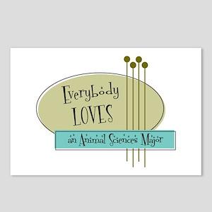 Everybody Loves an Animal Sciences Major Postcards
