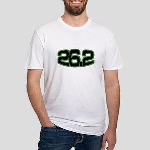 Fitted T-Shirt- 26.2 marathon shirt