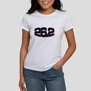 Women's T-Shirt- 26.2 marathon shirt