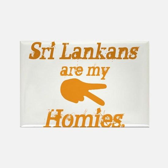 Cute Sri lankan Rectangle Magnet