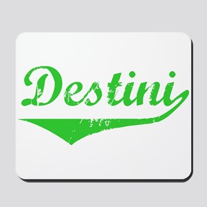 Destini Vintage (Green) Mousepad