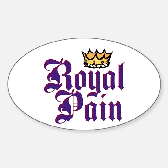 Royal Pain Oval Decal