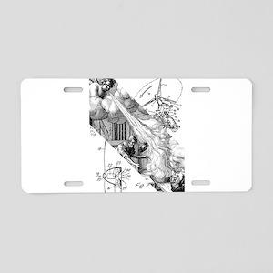 Wind Powered Aluminum License Plate