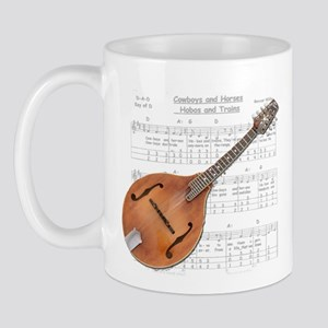 Mandolin and Cowboys Mug
