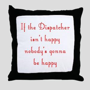 Dispatcher Throw Pillow