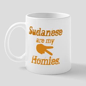 Sudanese are homies Mug