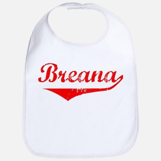 Breana Vintage (Red) Bib