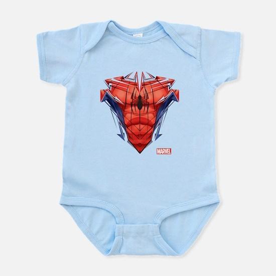 Cute Marvel Baby Light Bodysuit