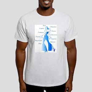 Essence of Woman Ash Grey T-Shirt