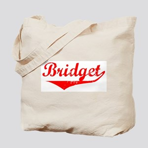 Bridget Vintage (Red) Tote Bag