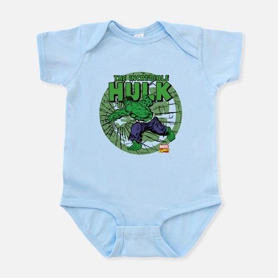 The Incredible Hulk Baby Light Bodysuit