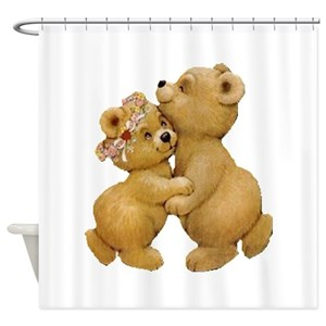 Dancing Bears Shower Curtains