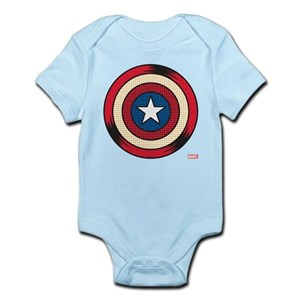 92af49fcf60f Marvel s Captain America Baby Clothes   Accessories - CafePress