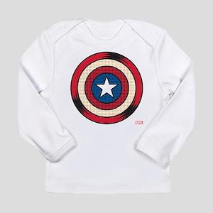 Captain America Comic Long Sleeve Infant T-Shirt