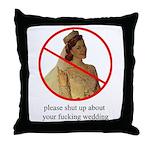 bridezilla throw pillow