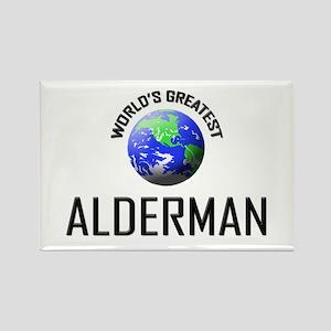 World's Greatest ALDERMAN Rectangle Magnet
