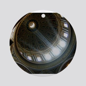 St. Peter's Basilica Ornament (Round)