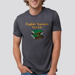English Teachers Get Lit Mens Tri-blend T-Shirt