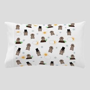 Groundhog Day Pattern Pillow Case