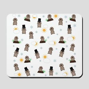 Groundhog Day Pattern Mousepad
