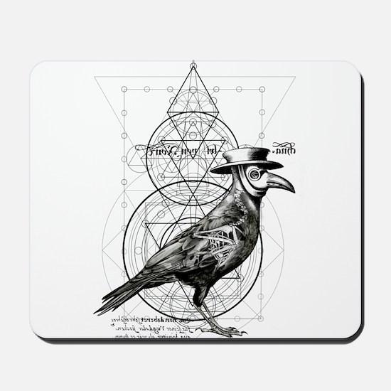 The Plague Raven Mousepad