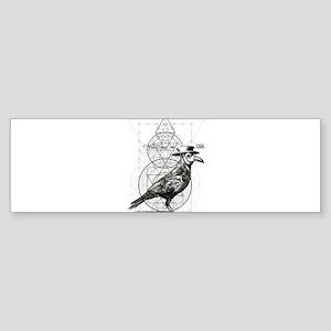 The Plague Raven Bumper Sticker