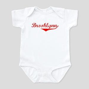 Brooklynn Vintage (Red) Infant Bodysuit