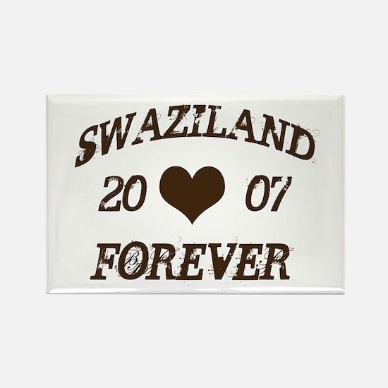 swaziland forever Rectangle Magnet