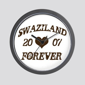 swaziland forever Wall Clock