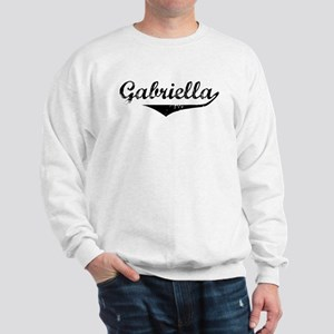 Gabriella Vintage (Black) Sweatshirt