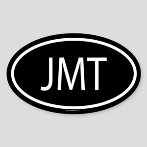 JMT Oval Sticker