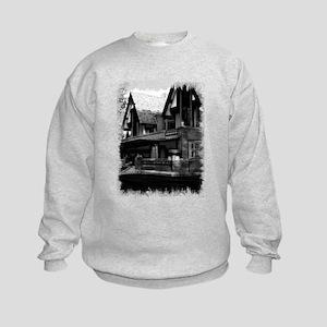 Old Haunted House Kids Sweatshirt