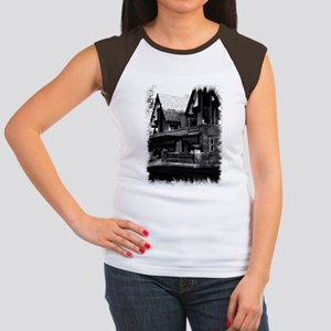 Old Haunted House Women's Cap Sleeve T-Shirt