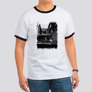 Old Haunted House Ringer T