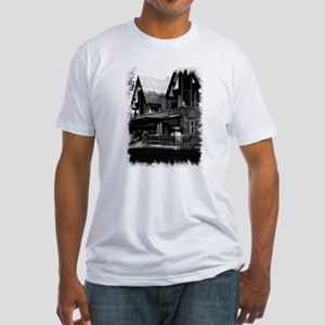 Old Haunted House Fitted T-Shirt