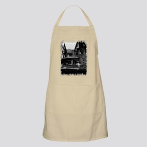 Old Haunted House BBQ Apron