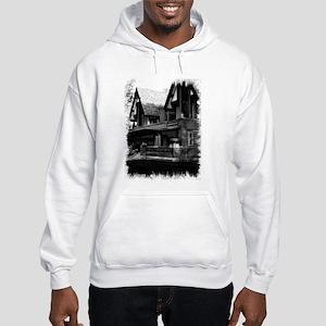 Old Haunted House Hooded Sweatshirt